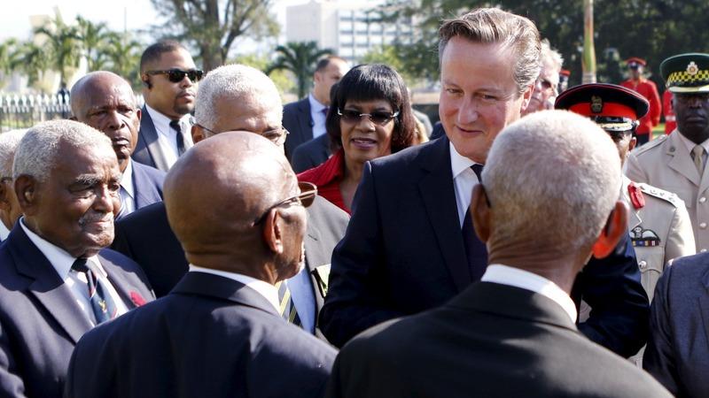 Cameron says no to Jamaica reparations