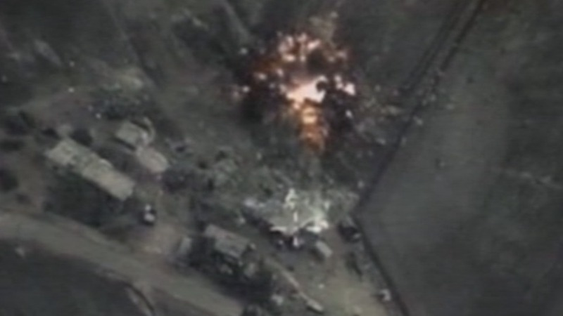 Second day of Russian strikes in Syria