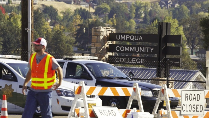 Mass shooting grips Oregon college campus