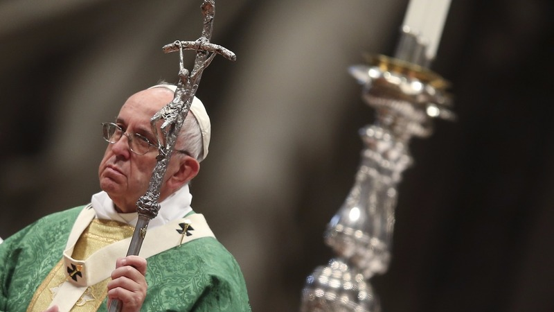 Pope reaffirms opposition to gay marriage