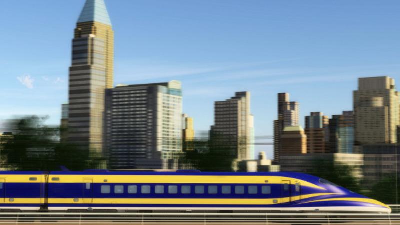 California high-speed rail gains steam