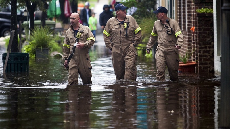 Record rainfall turns deadly in Carolinas