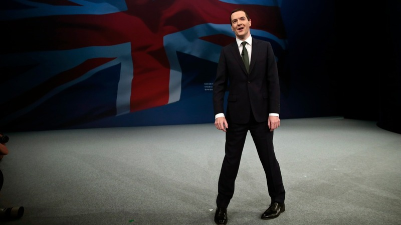 Osborne eyes leadership in conference speech