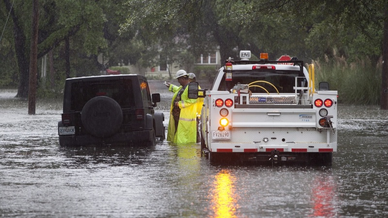 Dams breached in South Carolina after 'historic' rains