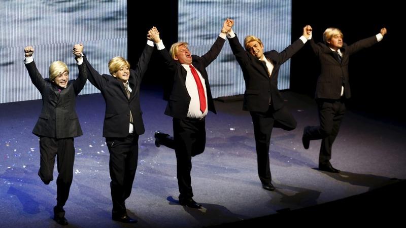Mexico's 'Sons of Trump' skewers GOP frontrunner