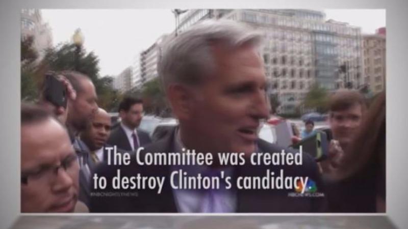 Clinton ad targets McCarthy gaffe