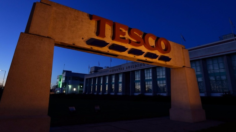 Tesco shows signs of turnaround