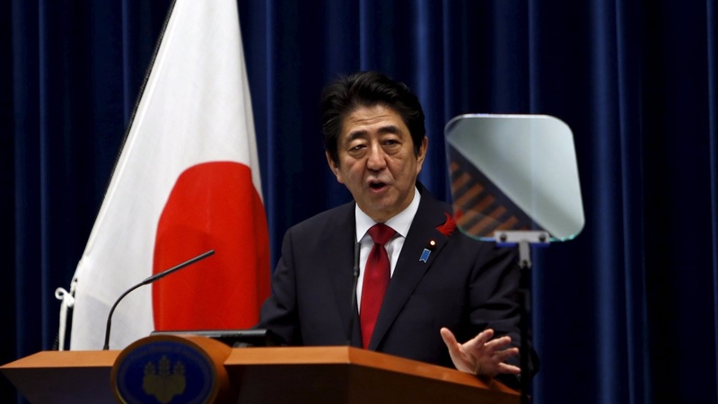 Japan's Abe presents new cabinet lineup