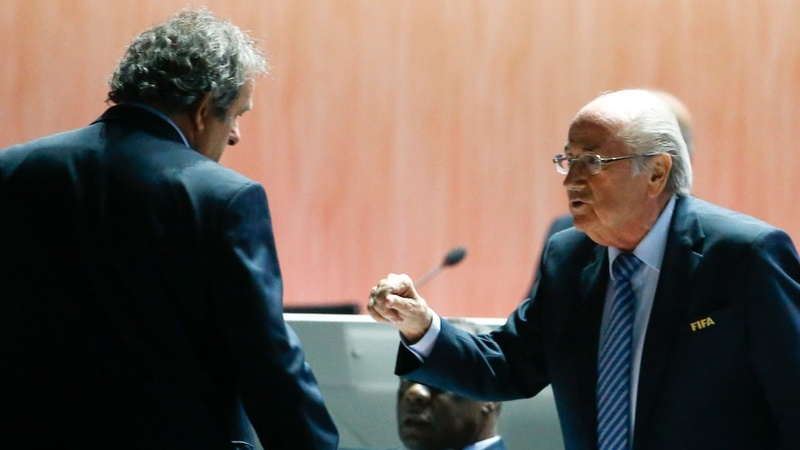 Blatter given 90-day FIFA suspension