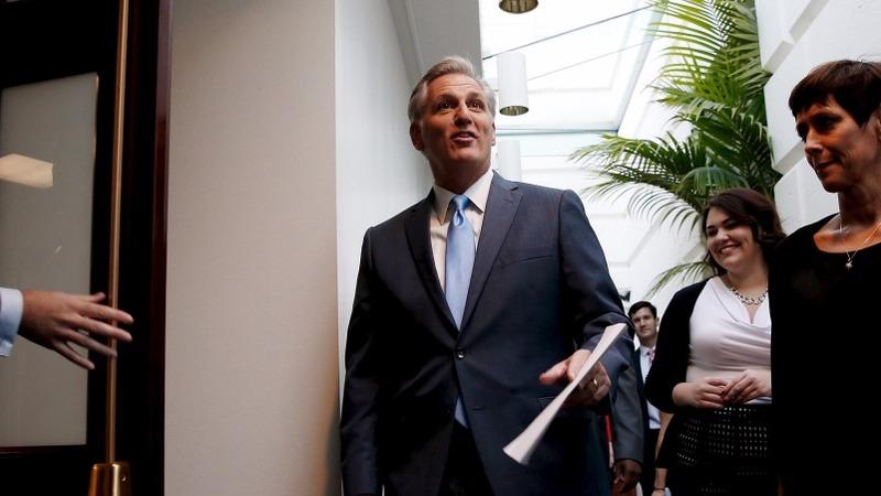 VERBATIM: McCarthy drops Speaker bid