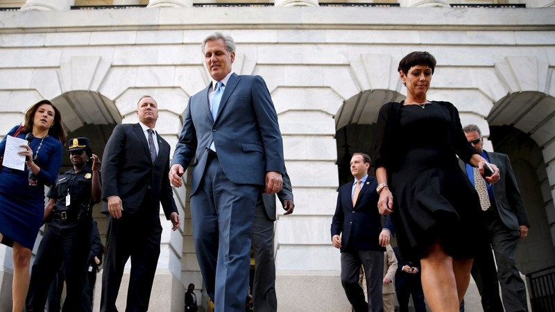 Kevin McCarthy drops run for House Speaker