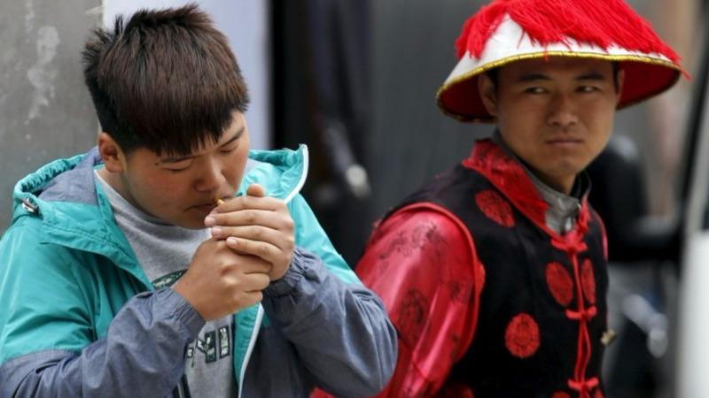 Smoking could kill 1/3 of China's young men