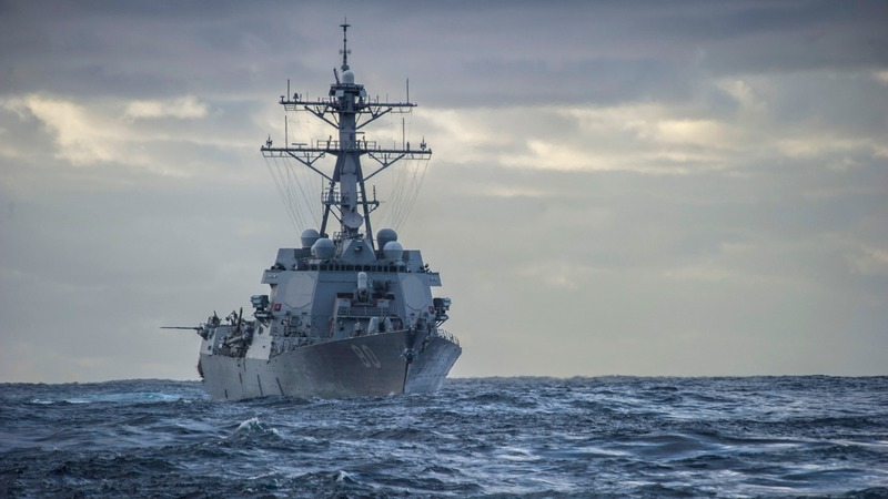 U.S. warships may set sail for China islands