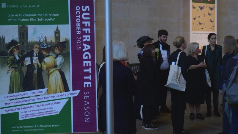 Suffragette tour opens to film's crew