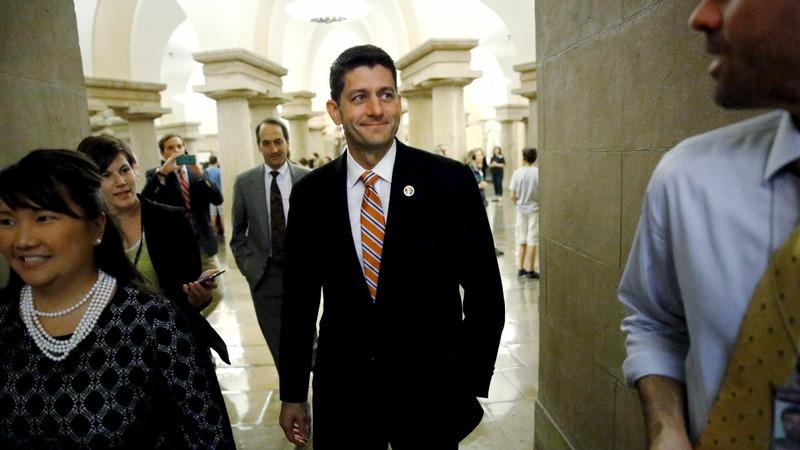 GOP turns to Paul Ryan as white knight