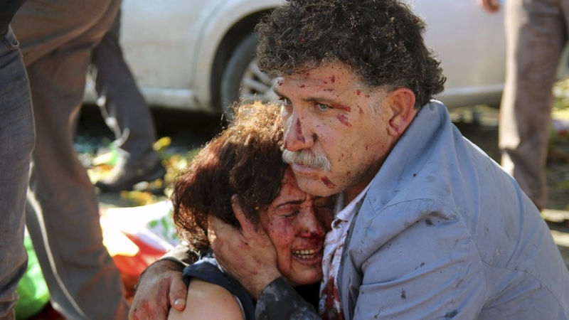 Twin bombs kill dozens in Turkish capital