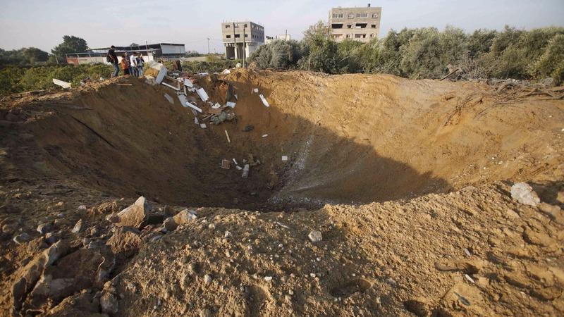 Israeli air strike kills two in Gaza
