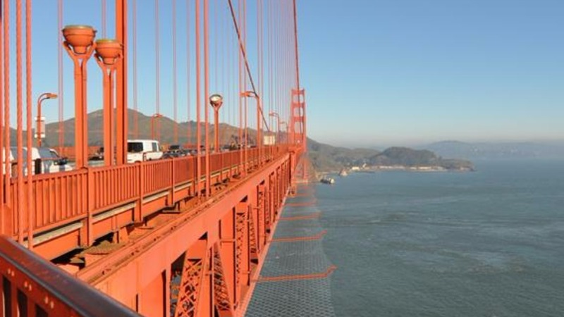 A safety net for the Golden Gate Bridge