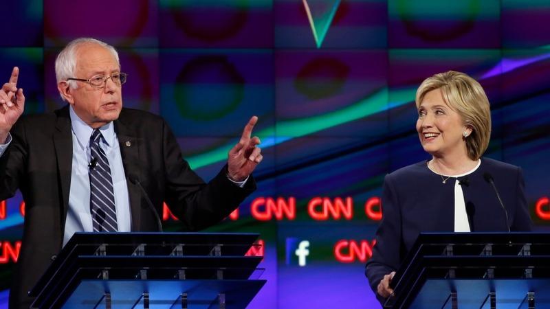 VERBATIM: Clinton, Sanders spar in Vegas