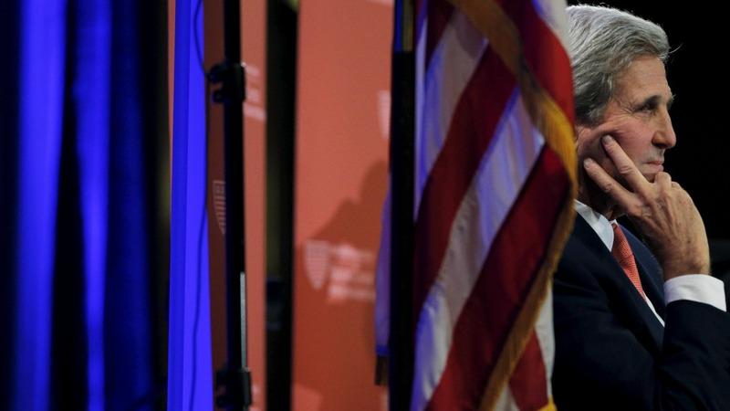 VERBATIM: Kerry seeks to calm Mideast tension