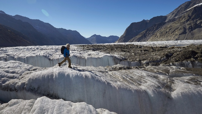 IN PICTURES: Glacier vs. climate change