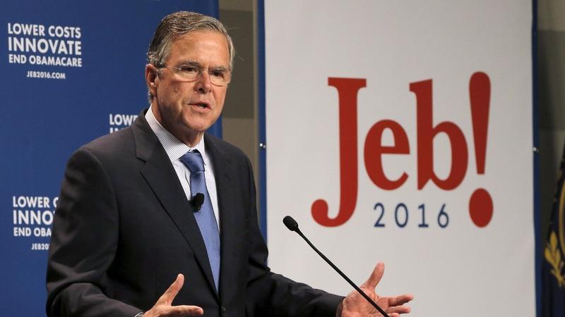 Bush stumbles in the money race
