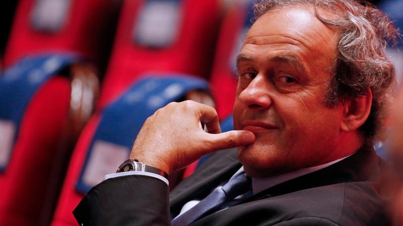 UEFA backs 'suspended' Platini for FIFA