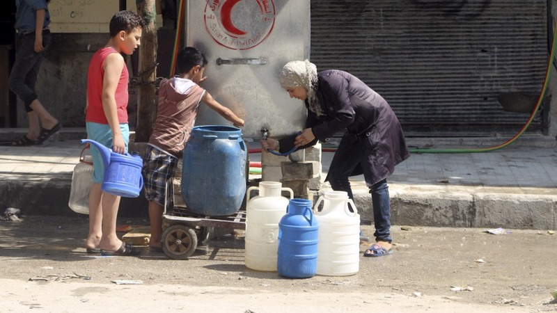 Syria's water becomes a weapon of war