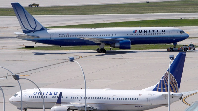 United stock sinks as CEO hospitalized