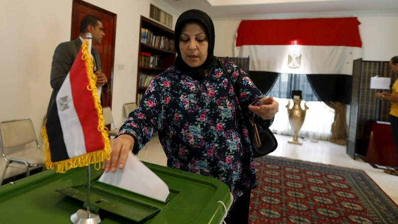 Egyptians finally head to polls