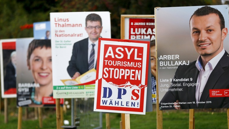 Swiss right-wing party wins general election