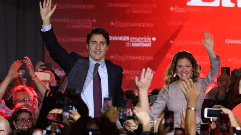 Liberals score landslide win in Canada