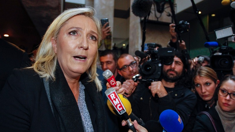 Le Pen on trial over Muslim remarks