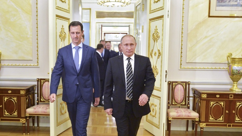From Syria with love, Assad in Moscow