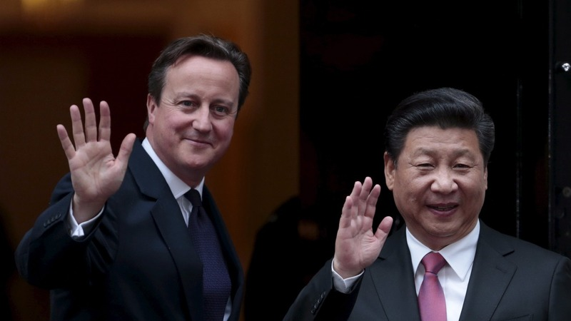 Xi and Cameron do deal at Number 10
