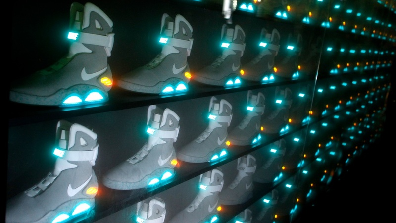 Nike power laces come 'Back to the Future'