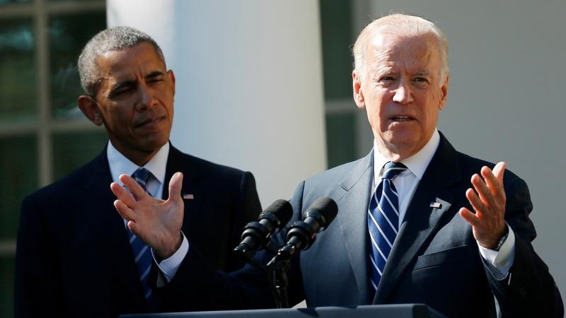 Biden says no to 2016 run