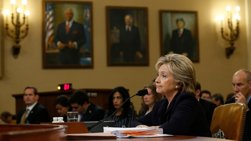 Clinton tested in marathon Benghazi hearing