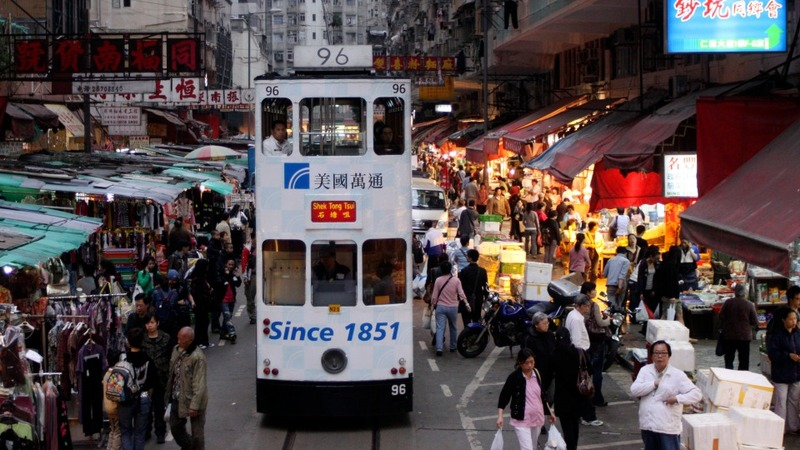 Hong Kong trams go back to the future