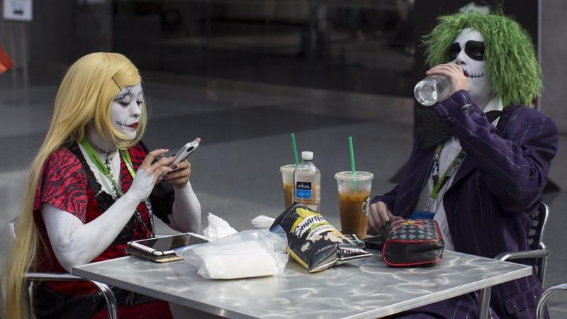Fantasy superfans descend on London Comic Con