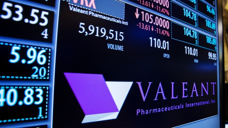 Valeant goes on defense after bruising week