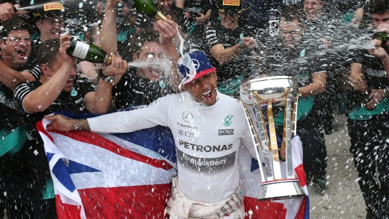 Lewis Hamilton takes third F1 title