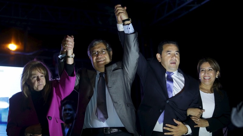 A comedian sweeps the Guatemalan election