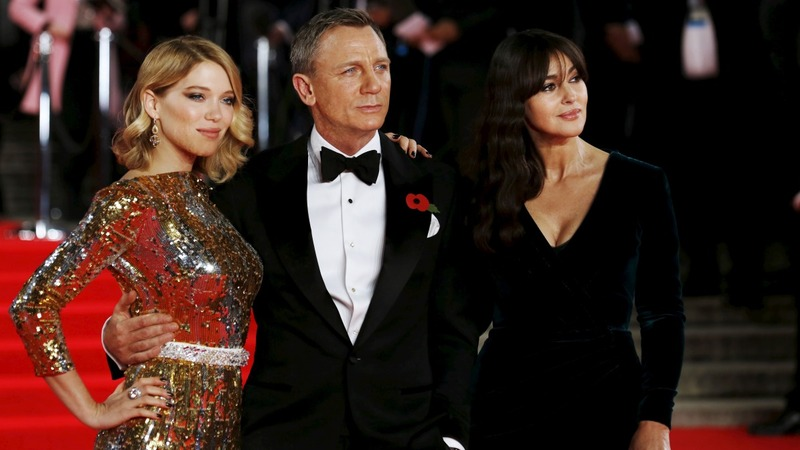 Spectre premiere: Royals join Bond cast