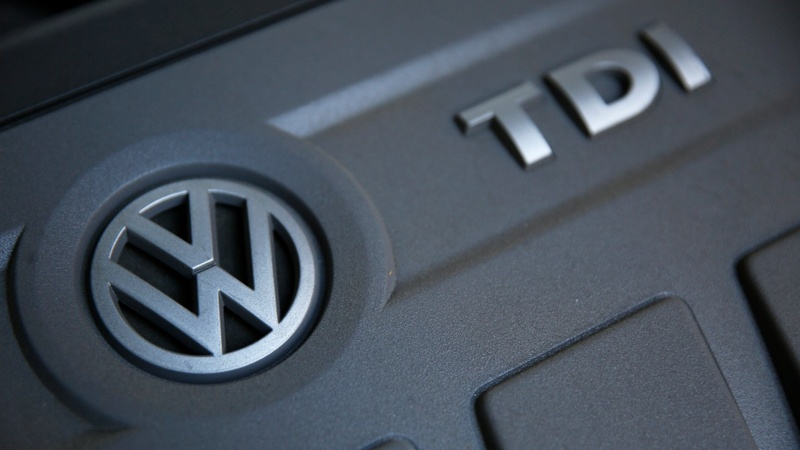 Emissions scandal drives VW into the red