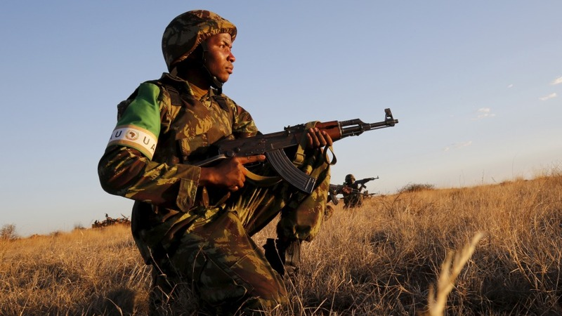 Last drills for Africa's first strike force