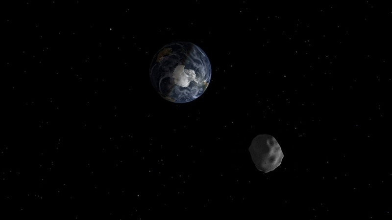Huge Halloween asteroid to narrowly miss Earth