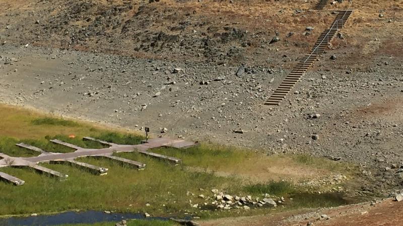 Running Dry: Shrinking lake reveals ruins