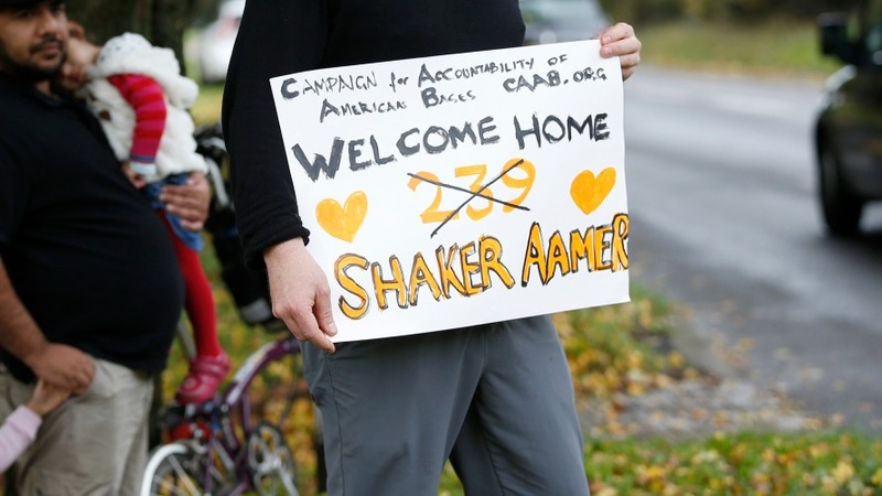 Freed Guantanamo detainee lands in Britain