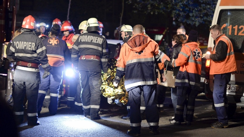 Romanian nightclub blaze leaves 27 dead